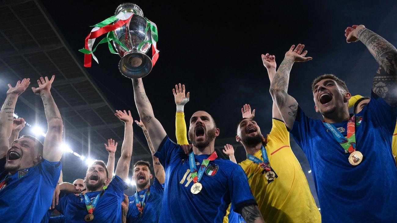 Italia gana la Eurocopa 2020