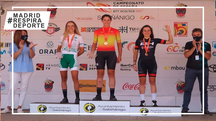 Rocío García revalida su título de campeona de España de MTB