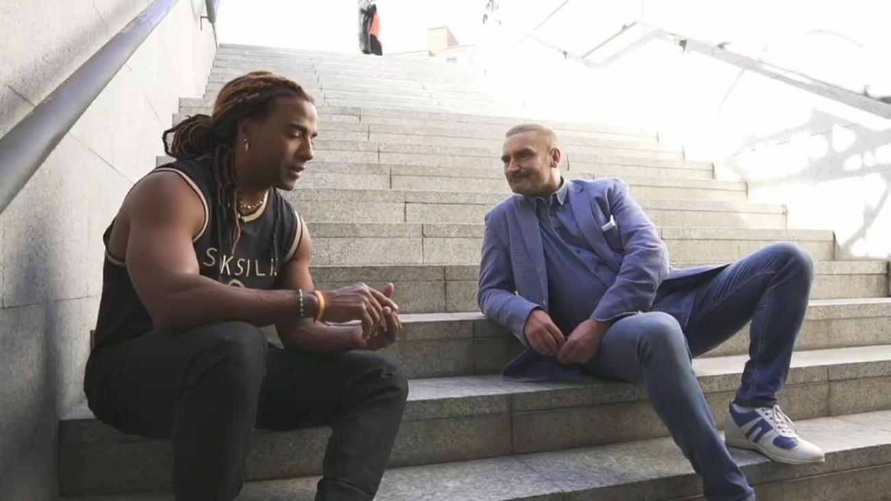 """La dura historia detrás del cantante Yotuel: """"Viví en el metro"""""""
