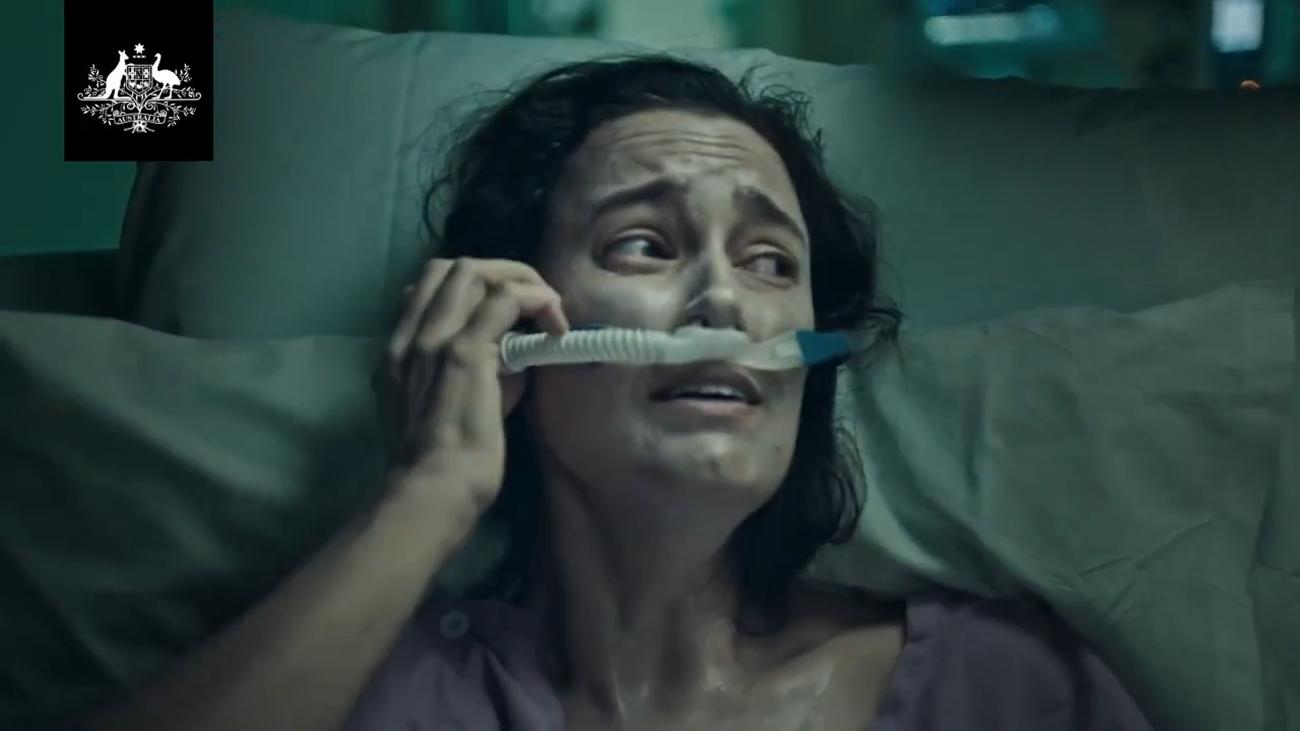 El polémico vídeo de Australia para alertar sobre la Covid que busca despertar conciencias