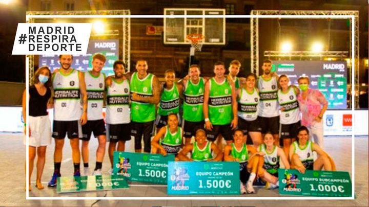 El circuito 3x3 de baloncesto conquista Madrid