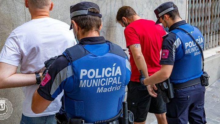 Así practican los futuros policías locales de todo Madrid