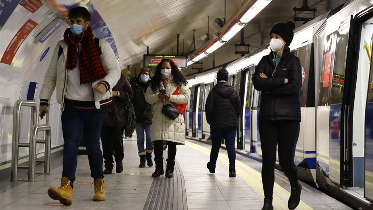 Viajeros del Metro de Madrid