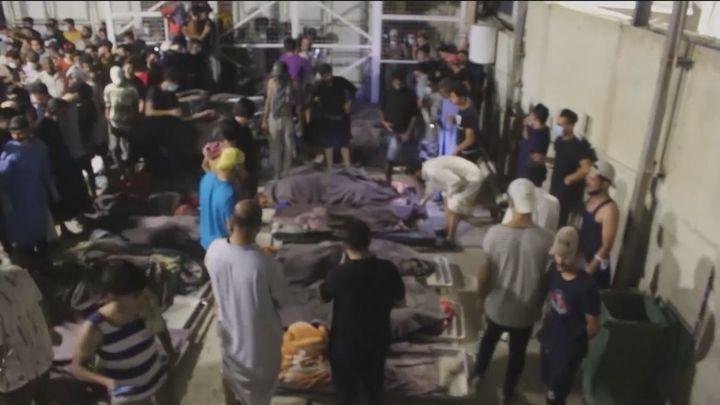 Un incendio en un hospital para pacientes Covid en Irak deja más de 60 muertos