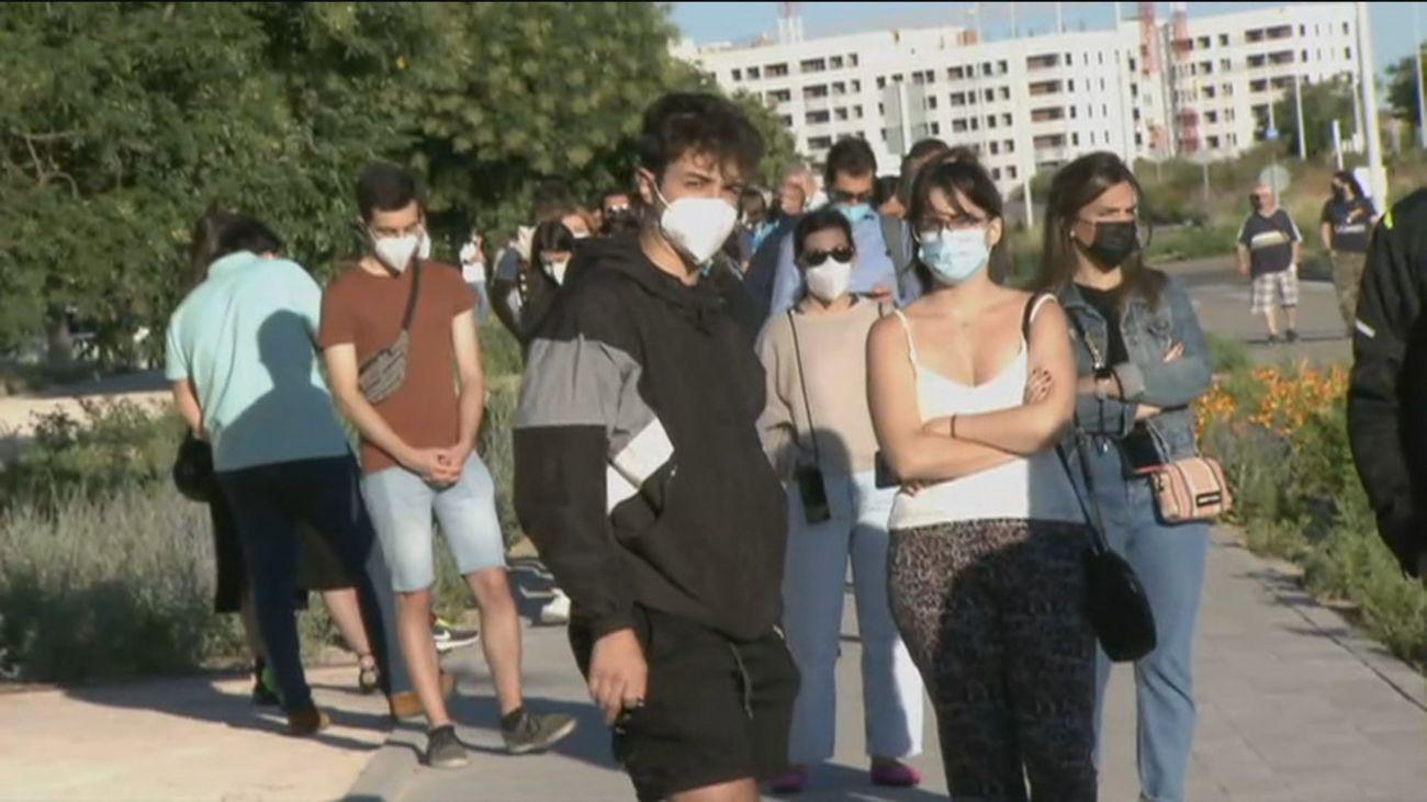 Madrid no registra fallecidospero si 2.815 nuevos contagios en las últimas 24 horas