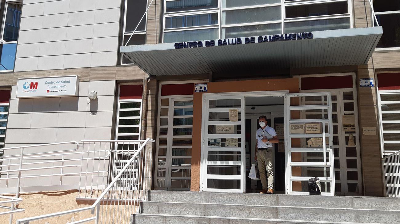 Centro de Salud de Campamento, en Madrid