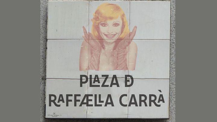 Raffaella Carrà tendrá su plaza en la calle Fuencarral
