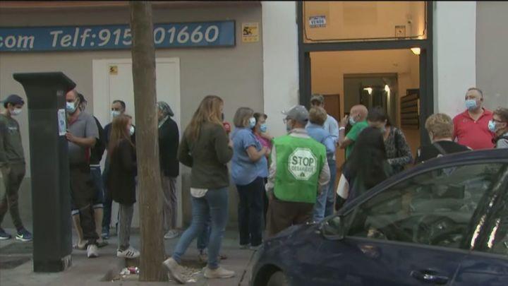 Dejan fuera del alquiler social a 9 familiasde la calle Cáceresamenazadas de desahucio