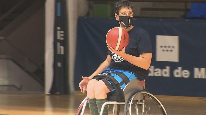 Baloncesto en silla de ruedas, basket sin barreras en Magariños
