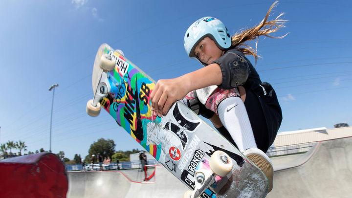 Skate Brown, a los Juegos Olímpicos con sólo 13 años