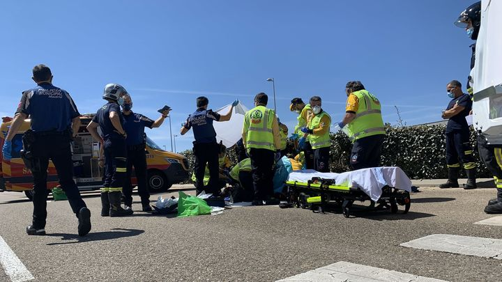 Herido grave un joven al ser atropellado en Valdebebas