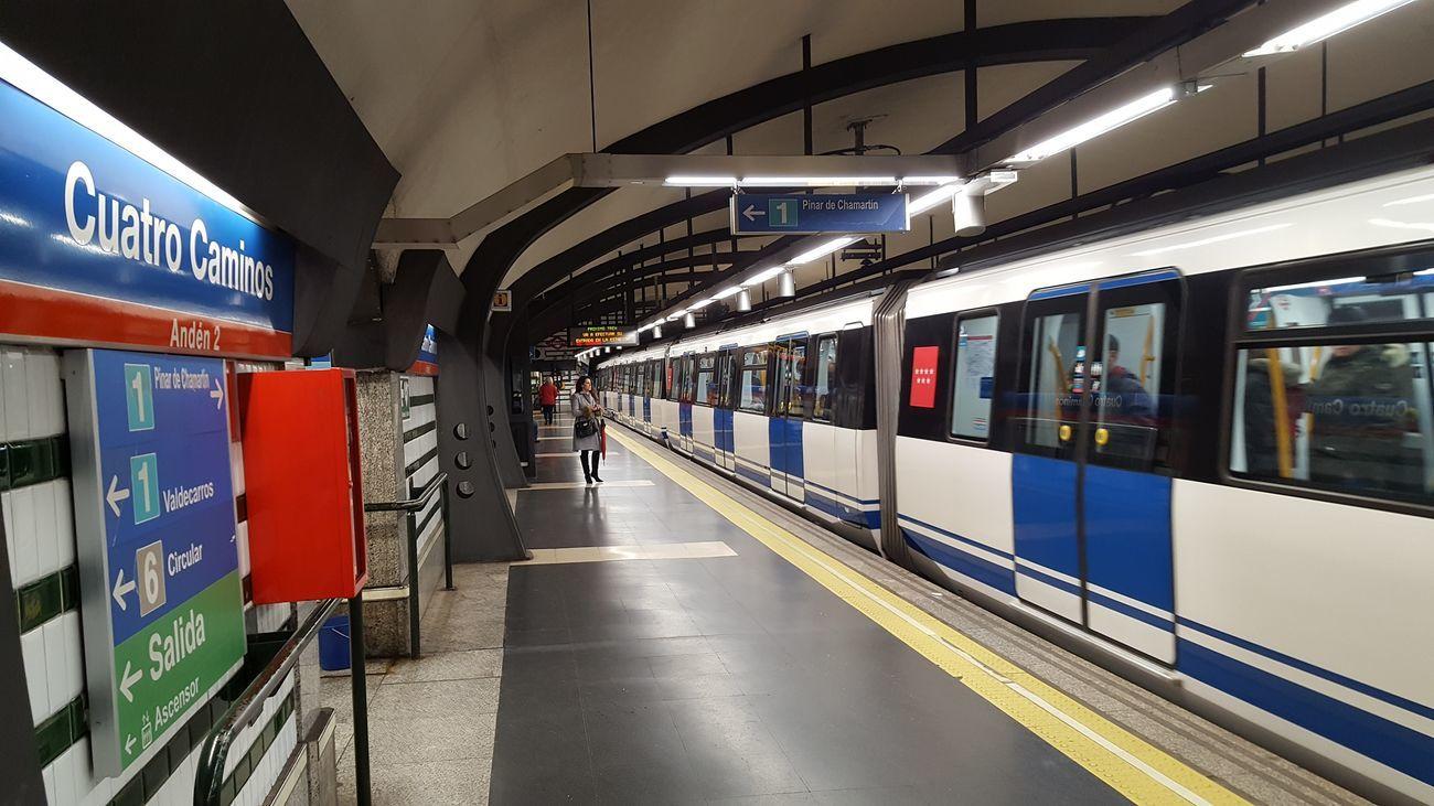 Estación de Metro de Cuatro Caminos