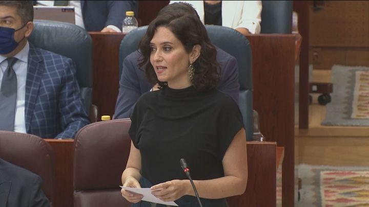 De la situación de Cuba a la reducción del gobierno en el último Pleno de la Asamblea de Madrid