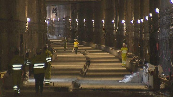 Entramos en las obras del túnel de Cercanías entre Las Margaritas y el Sector 3 de Getafe