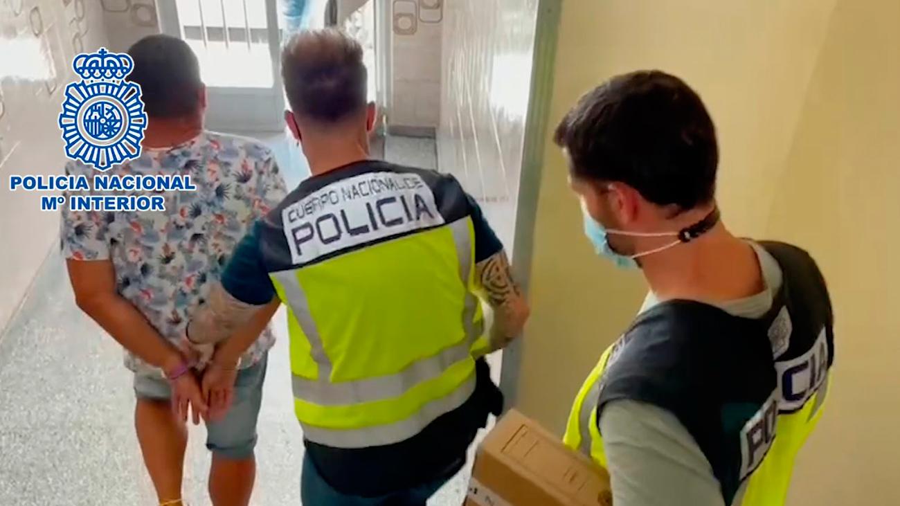 La Policía Nacional detiene a tres personas por robos en joyerías de la calle Alcalá