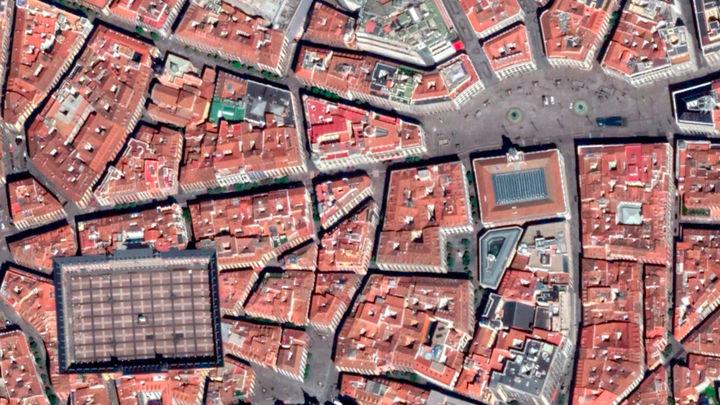 Las imágenes de Madrid vacía durante el confinamiento por Google Earth