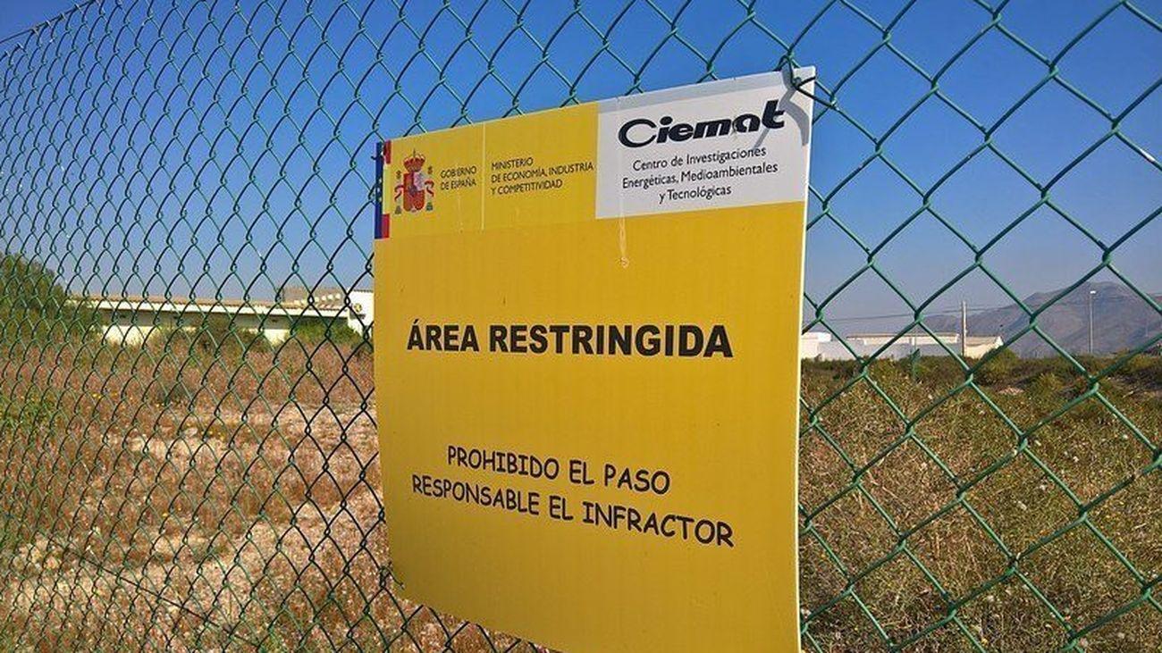 Zona prohibida de Palomares por suelos contaminados con elementos radiactivos