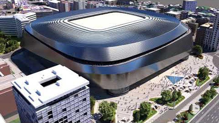 La espectacular recreación 3D del nuevo Bernabéu