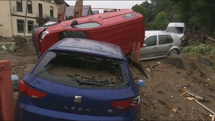 Más dede 125 muertos y 1.300 desaparecidos en Alemania y Bélgica por las inundaciones