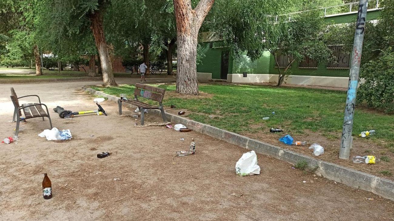 Botellón en Alcalá de Henares