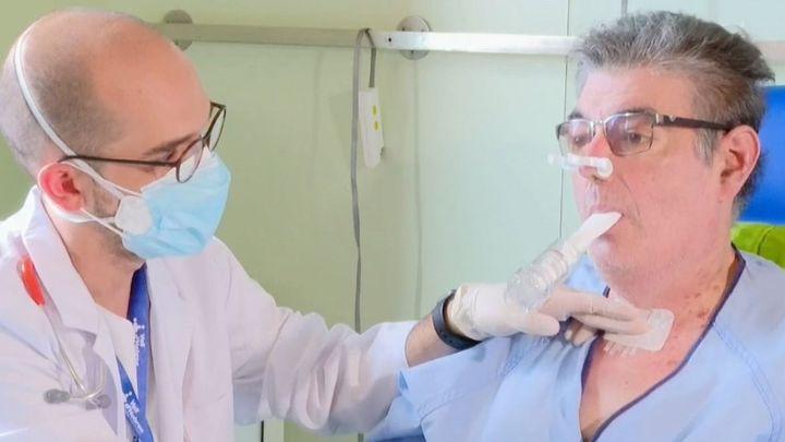 Primer trasplantado de pulmón en España por las secuelas de la Covid