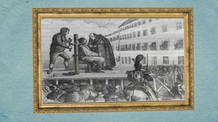 La historia de la calle de la Amargura y los ajusticiados en la Plaza Mayor