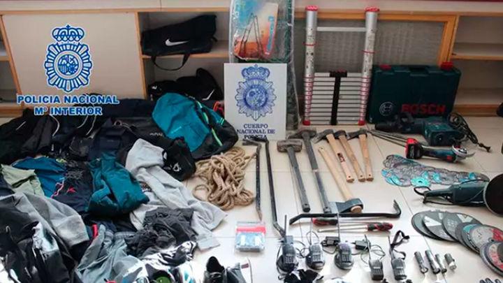 Desarticulan una banda albano-kosovar especializada en robos afincada en Madrid