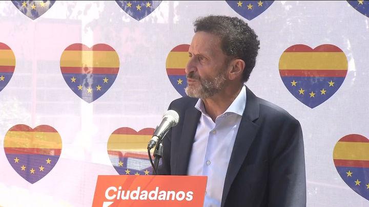 """Bal, en la convención de Ciudadanos: """"No va a haber fusión  con el PP"""""""