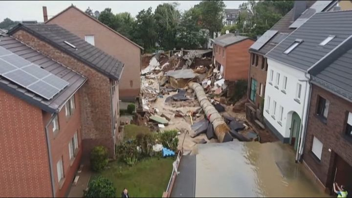 Situación dramática en Alemania por las inundaciones