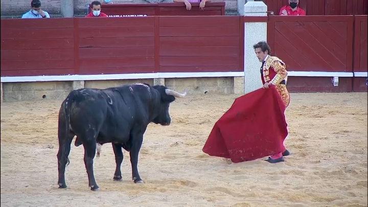 Isaac Fonseca y Álvaro Burdiel, a hombros en la semifinal de Miraflores de la Sierra (2ª parte)