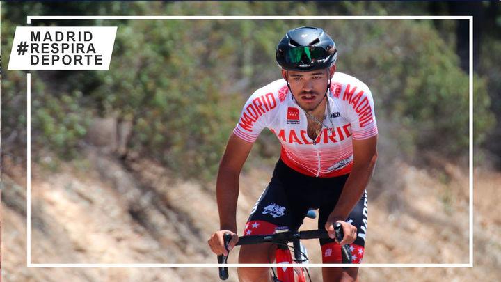 Jorge García, décima medalla para Madrid en el Campeonato de España Júnior de Ciclismo