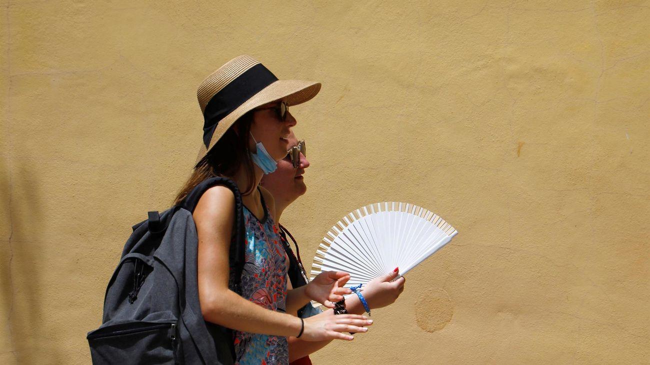 Calor en Madrid