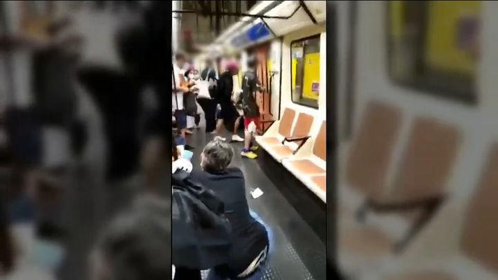 La  Policía Nacional busca al autor de la agresión a un enfermero en el Metro de Madrid