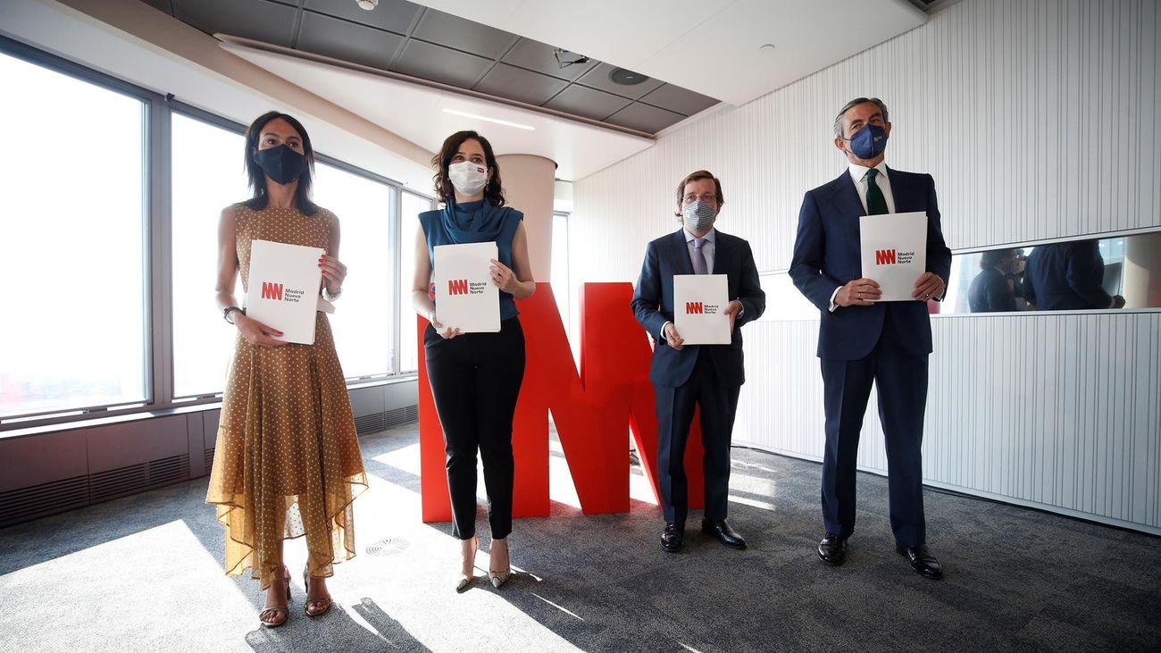 Firma del Convenio de Madrid Nuevo Norte
