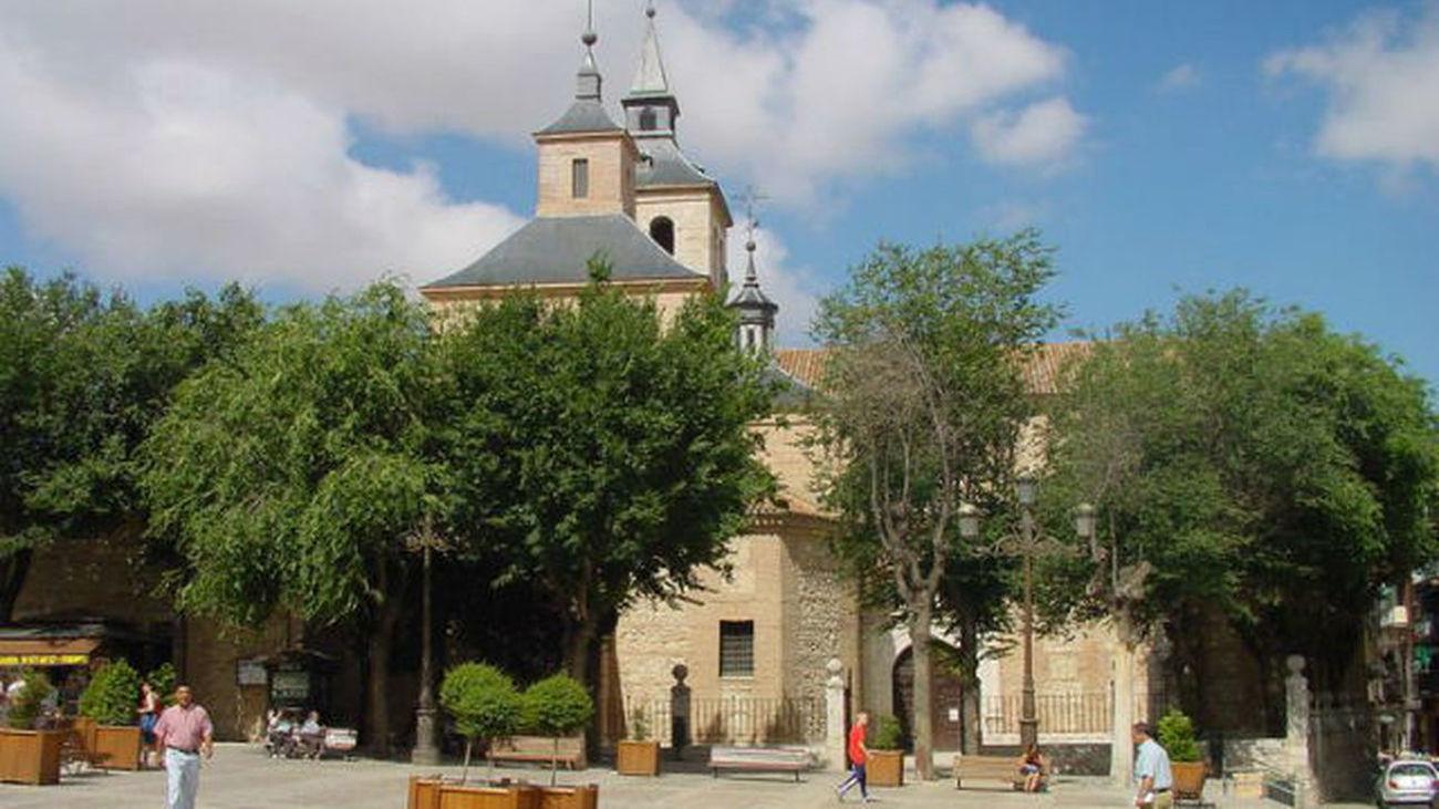 Iglesia de San Juan Bautista en Arganda del Rey