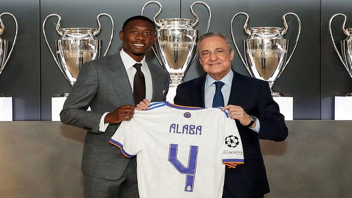 """Alaba: """"El 4 representa fortaleza y liderazgo, pero no me comparo con otros"""""""