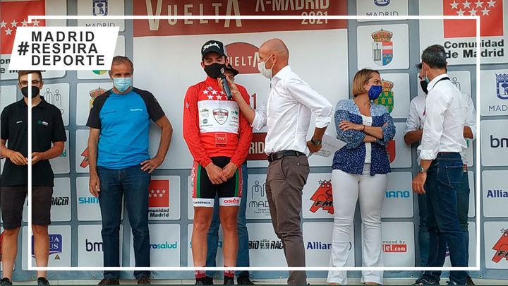 José Marín, primera etapa y liderato de la Vuelta Ciclista a Madrid Sub'23