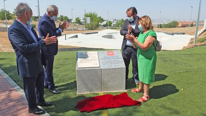 Paracuellos inaugura el skatepark más grande de Madrid en homenaje a Ignacio Echeverría