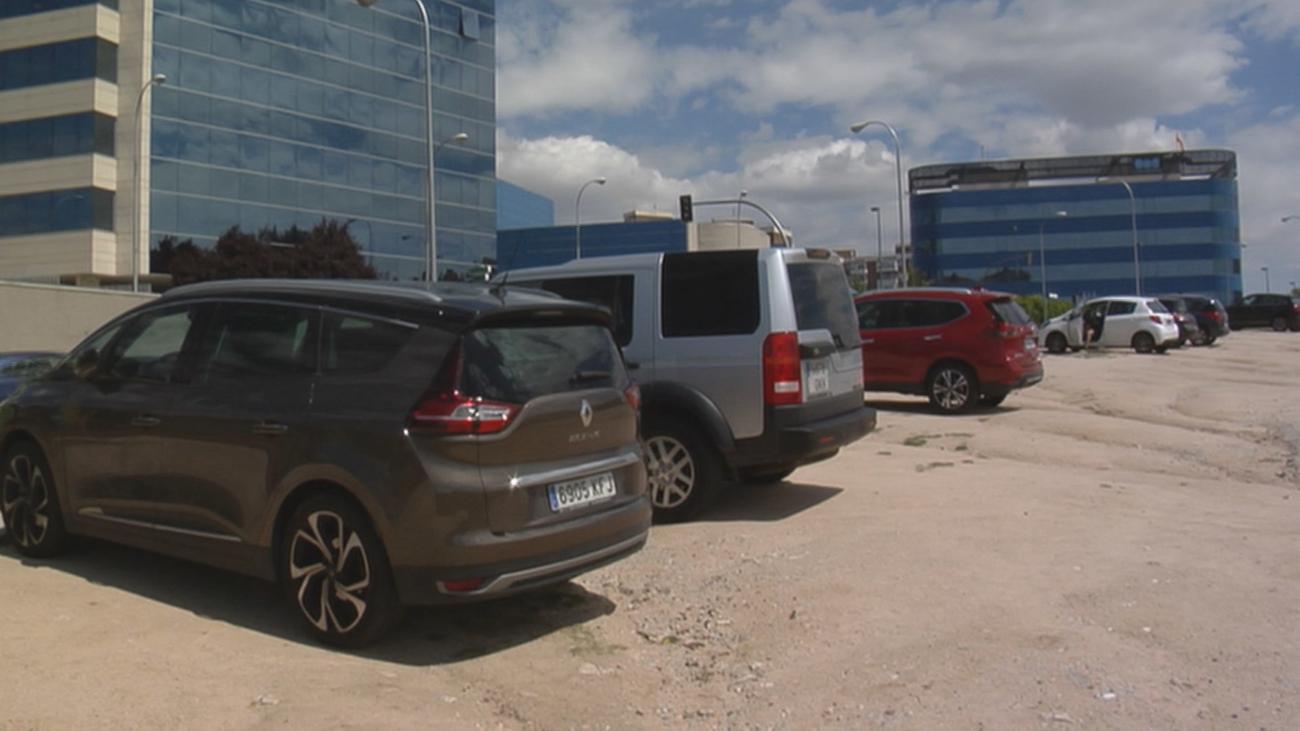 Terrenos para el aparcamiento disuasorio en Tres Olivos