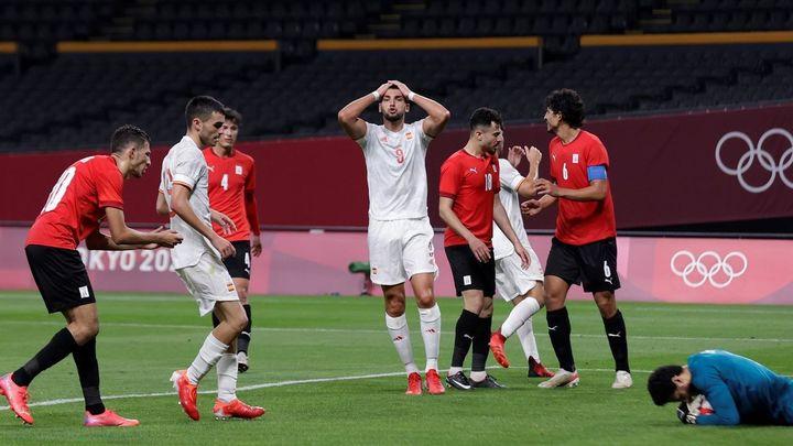 0-0. Pinchazo de España en el debut ante Egipto