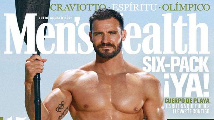 Saúl Craviotto, un abanderado de portada