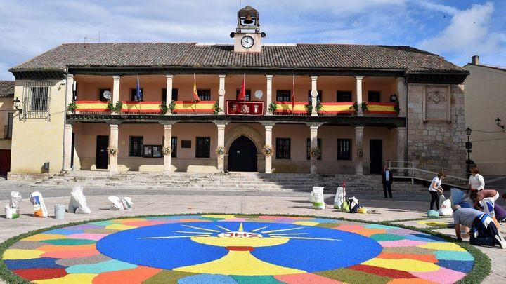 Torrelaguna creará este fin de semana una gran alfombra de colores por el Xacobeo