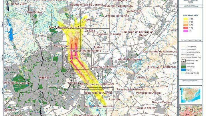 Algete quiere una solución al ruido procedente de los aviones que sobrevuelan la localidad