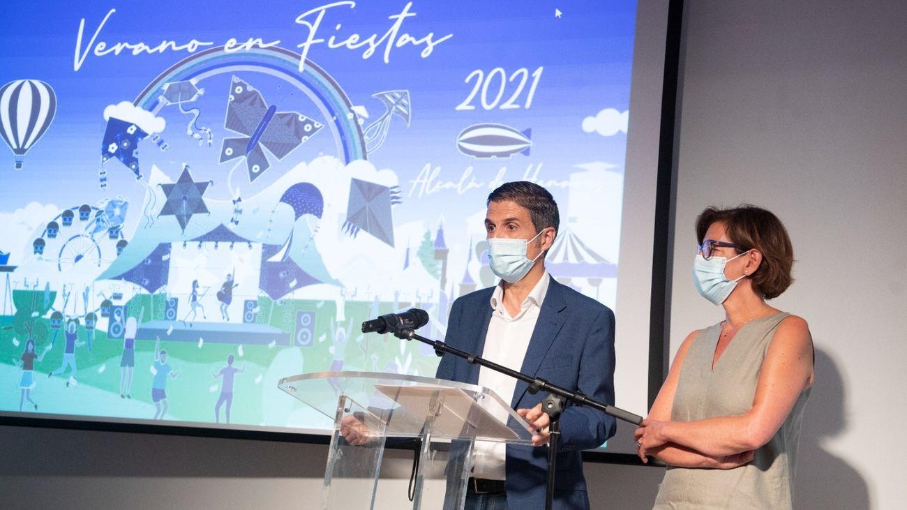 Presentación de  Verano en Fiestas 2021 de Alcalá
