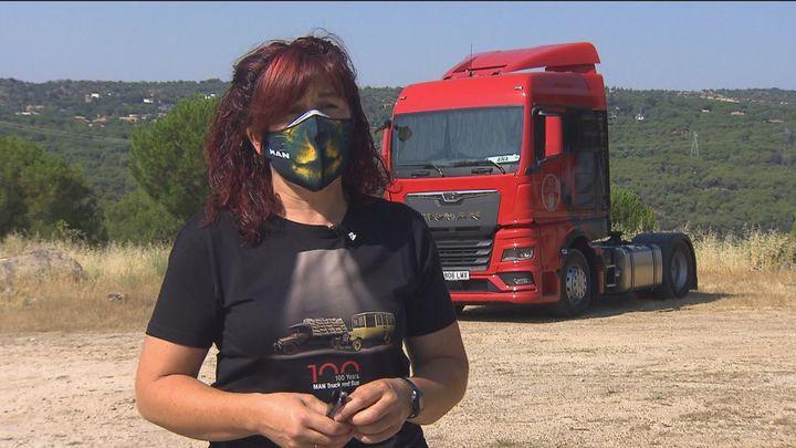 Ana, camionera y referente en una profesión donde no abundan las mujeres
