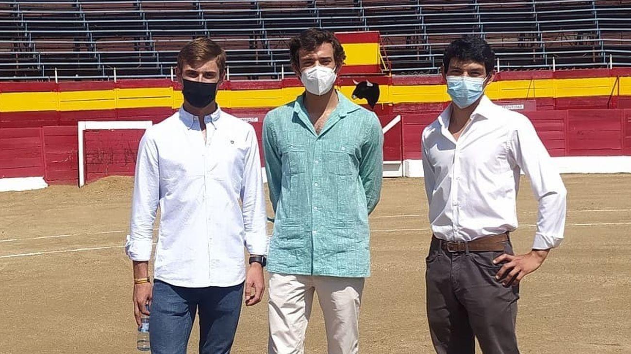 Los tres finalistas del Circuito de Novilladas de la Comunidad de Madrid