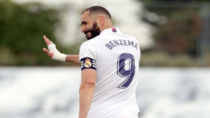 Benzema, positivo por covid-19