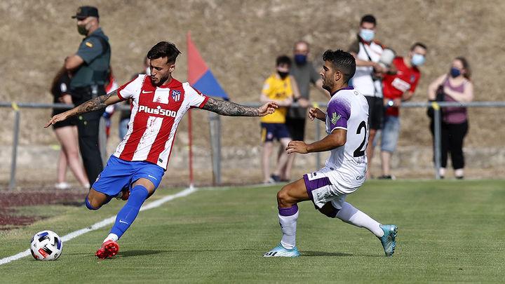1-1 (4-5). El Atlético, campeón en los penaltis del Memorial Jesús Gil