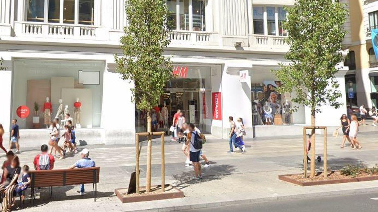 Tienda H&M de Gran Vía