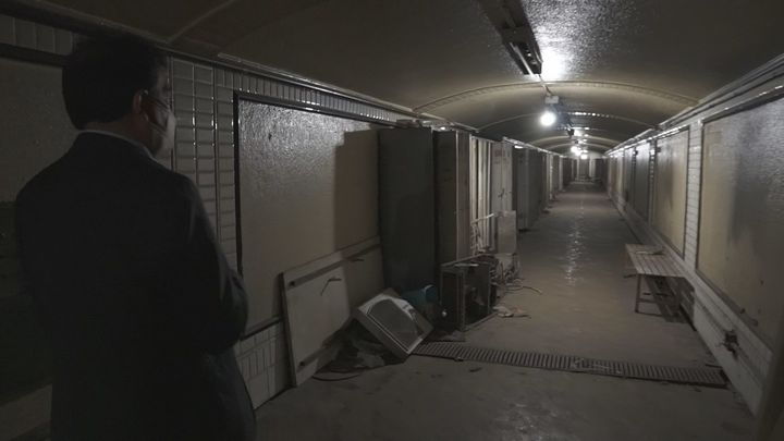Recorremos los túneles fantasma de Goya Bis